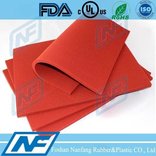 250 centigrade degree High-temperature Silicone Foam mat