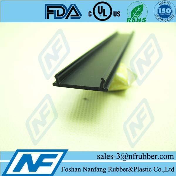 Glass accessories door seal plastic edge trim