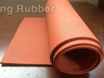 high temperature silicon foam insulation sheet