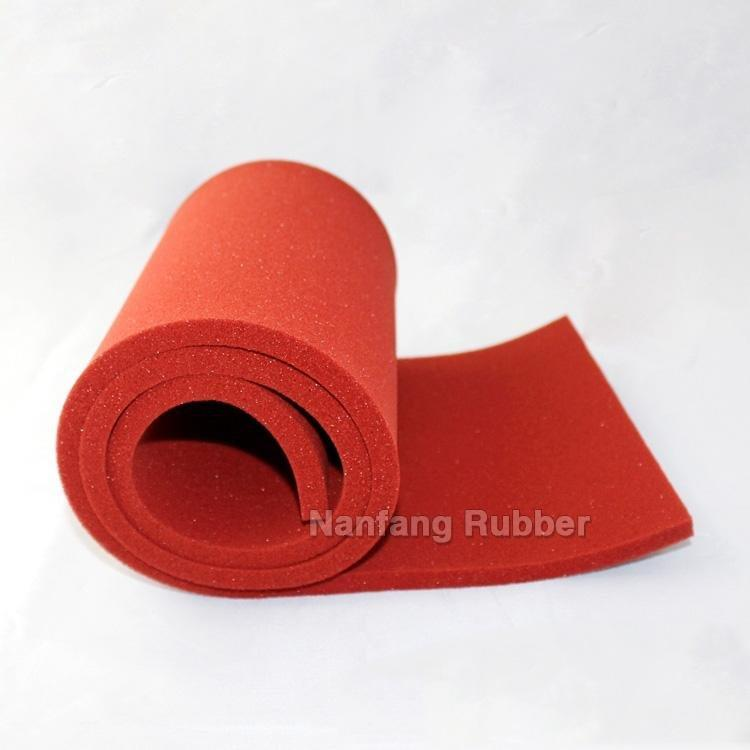 silicone sponge sheet for industry