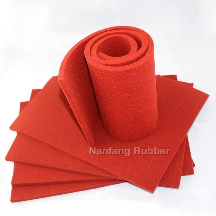 silicone Thin foam sheets