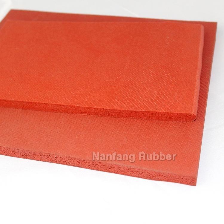 red or black foam sponge sheets
