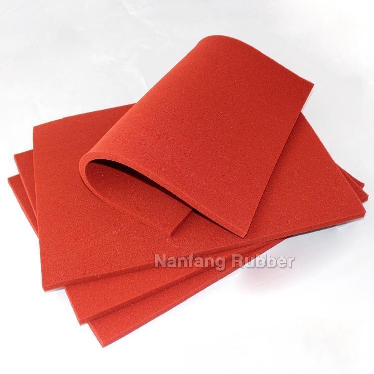 45shore C  silicone sponge foam sheets