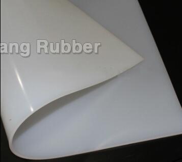 Foglio di gomma siliconica resistente al calore gradi centigradi 200-280